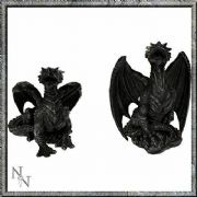 DARK FURY DRAGONS PACK OF 2 NEMESIS NOW FIGURINE ORNAMENT